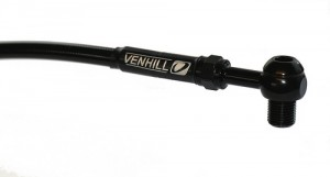 Venhill hydraulic lines now come with black fittings