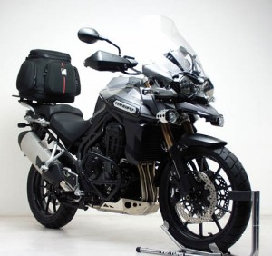 Lighter Luggage solution for the Triumph Tiger Explorer
