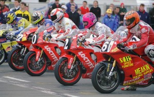 Great grid photo: BSB, Snetterton, 1994