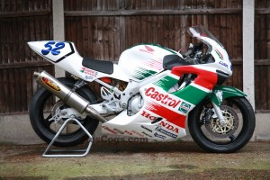 James Toseland Supersport Honda CBR600FX Racestoration