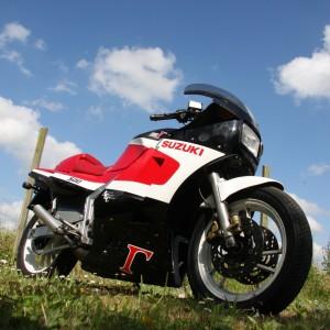 The Suzuki RG500 owned by Kevin Schwantz