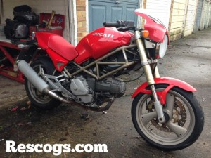 Ducati Monster mashed…