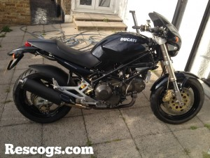 Budget Ducati Monster rebuild completed