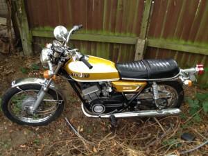 1972 Yamaha YDS7