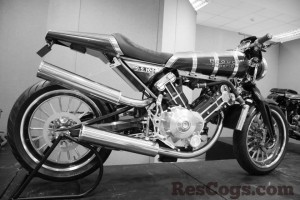The Brough Superior SS100 Titanium