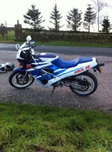 Stolen: 1987 Suzuki GSX-R250