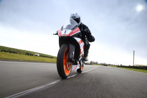 Hire a wildcard KTM RC390 Cup motorcycle