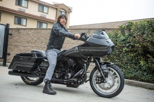 Anthony Kiedis picks up Roland Sands Design RoadGlide