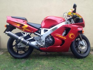 Buy Chris Eubank's old 1995 Honda Fireblade