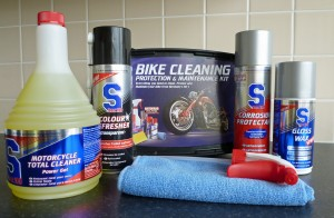 The SDoc100 Classic Cleaning Kit for motorcycles