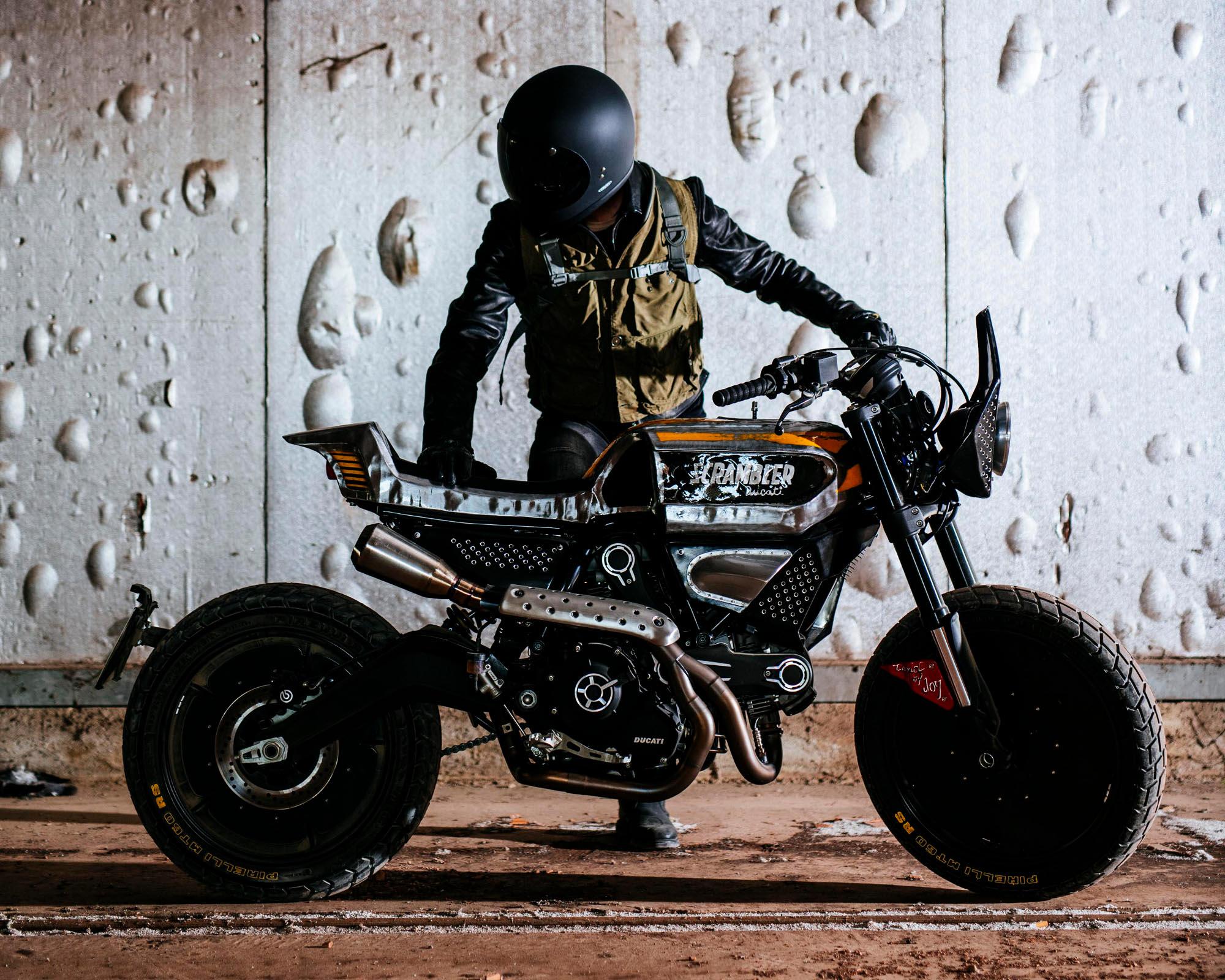 SC-Rumble Custom Ducati Scrambler by Vibrazioni Art Design Rescogs