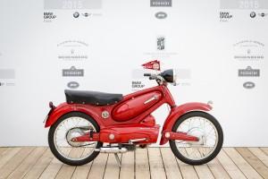 Concorso D'Eleganza Villa D'Este Motom 98 T, 98 cm³, 1955, Silvia Favaro (IT) (# MC-36)