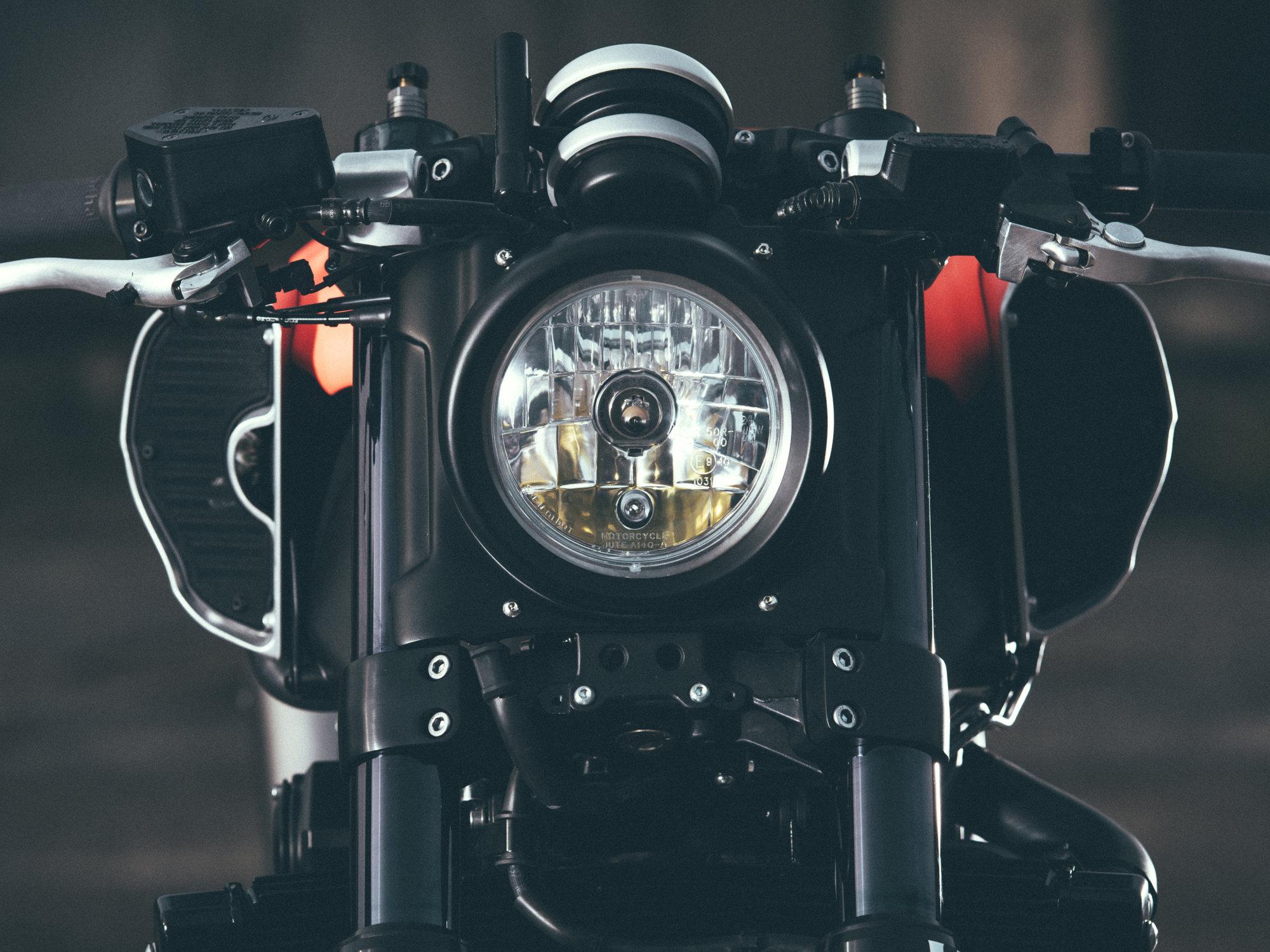 Custom Yamaha Vmax Infrared Yard Built By Jvb Moto Rescogs