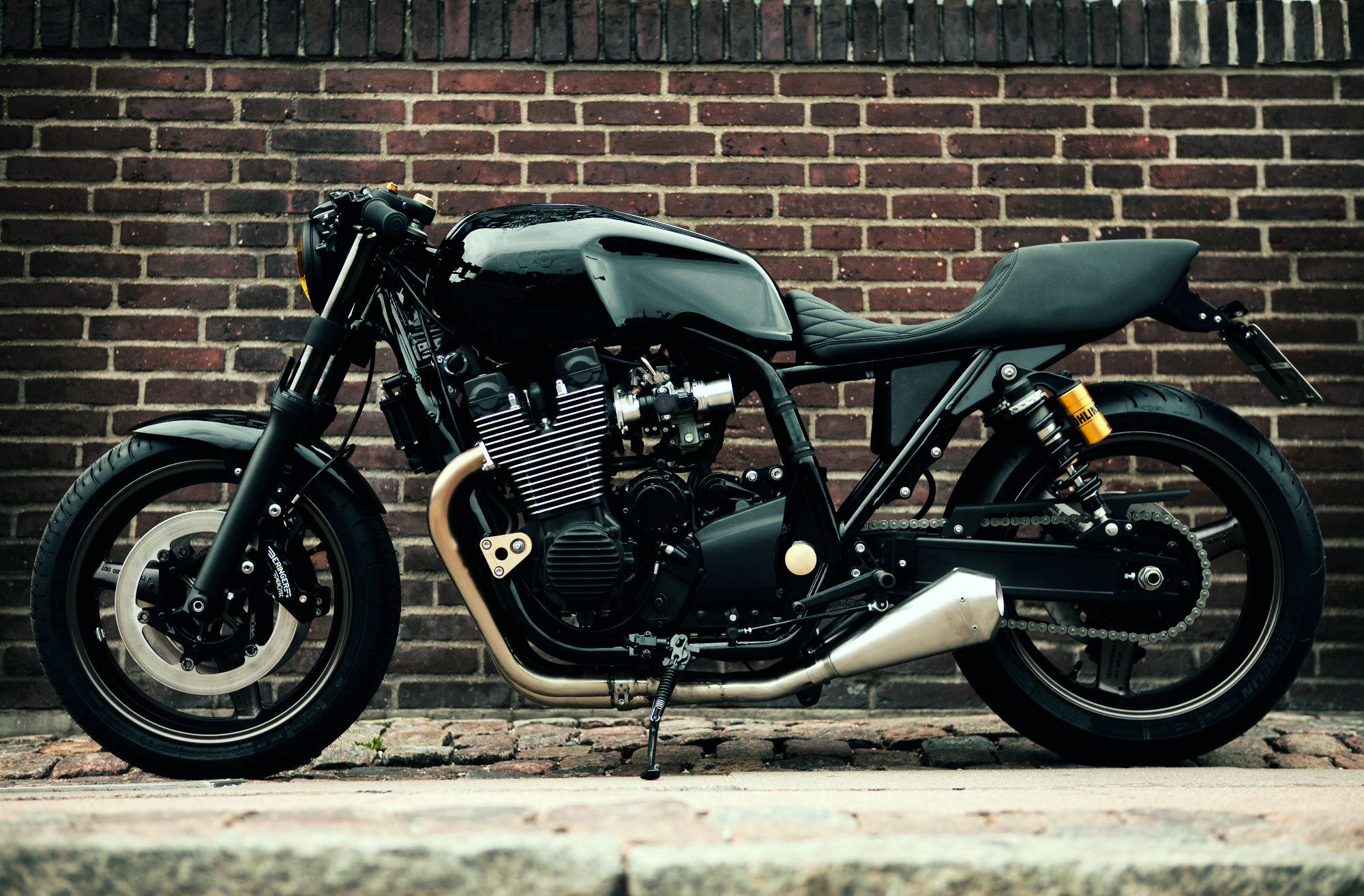 custom yamaha xjr1300 39 skullmonkee 39 rescogs. Black Bedroom Furniture Sets. Home Design Ideas