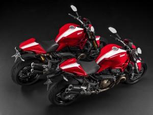 The Ducati Monster Stripe range