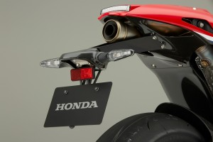 Honda RC213V-S Tailpiece and licence plate hanger