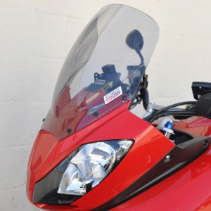 Skidmarx Double Bubble screen for the Triumph Tiger Sport