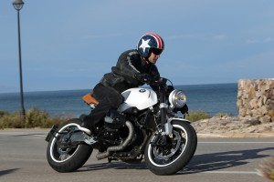 Wunderlich White Star custom BMW R nineT Cafe Racer