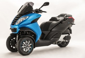 The 2015 Peugeot Metropolis Blue-Line Special Edition 3-wheeled scooter