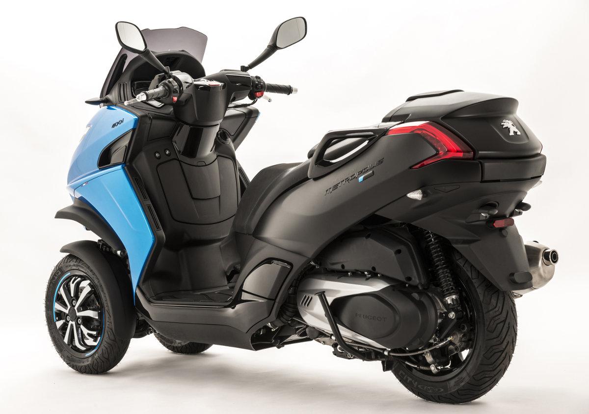 peugeot metropolis blue line special edition 3 wheeler. Black Bedroom Furniture Sets. Home Design Ideas