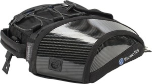Stylish carbon fibre tank bag for the BMW S1000R and RR