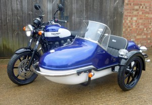 Watsonian Squire Launch Triumph and Scooter Sidecars