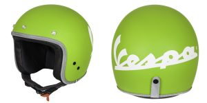Bright New Vespa Colors Helmets