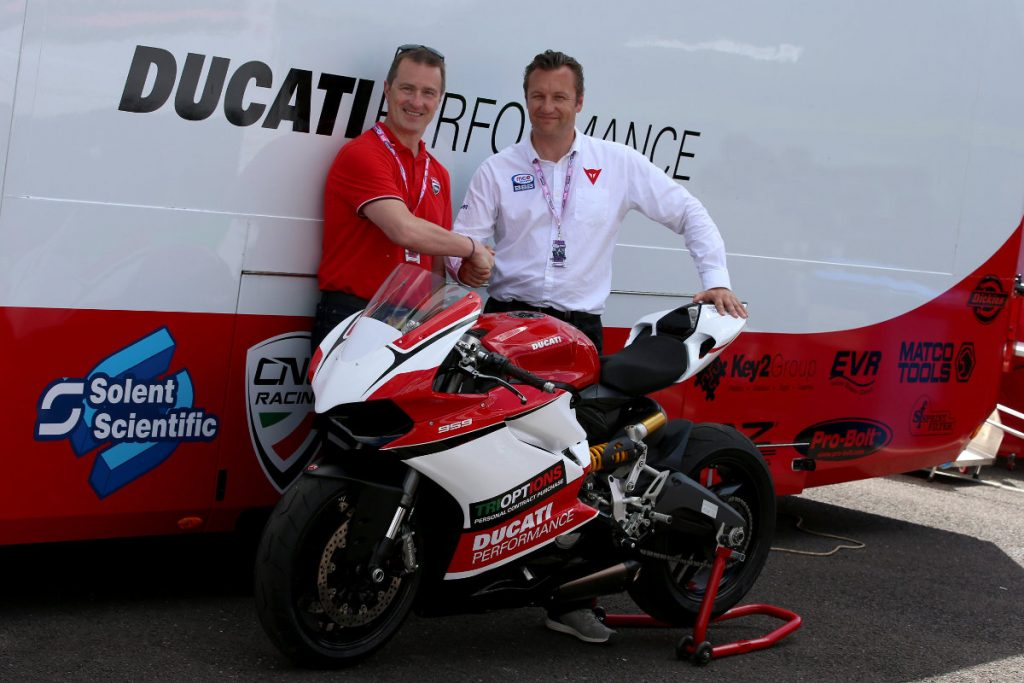 Ducati Panigale 959 TriOptions Cup