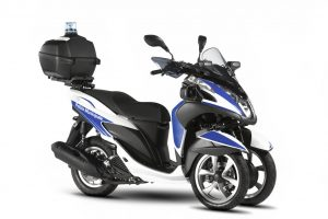 Yamaha Tricity 125 Police Equipment Kit