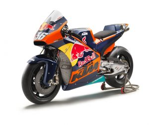 KTM RC16 MotoGP Bike Gets Official Outing