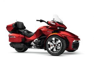 Bombardier Adds Can-Am Spyder F3 RT Limited for 2017