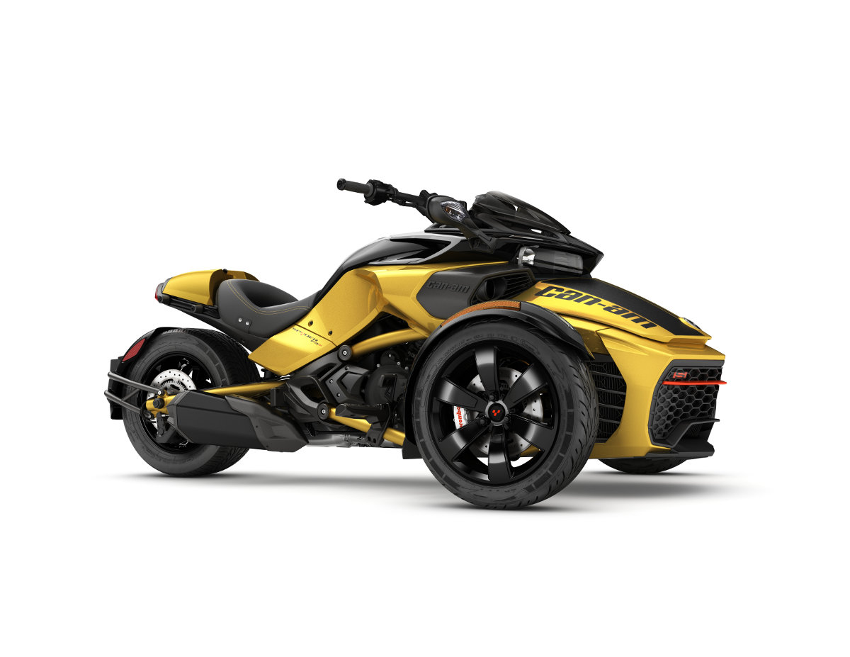 bombardier adds can am spyder f3 rt limited for 2017 rescogs. Black Bedroom Furniture Sets. Home Design Ideas