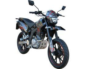 SFM Bikes ZZ125 and ZX125 Go Dark
