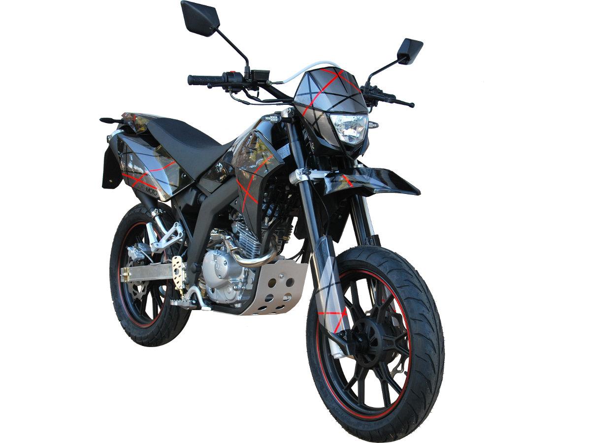 sfm bikes zz125 and zx125 go dark rescogs. Black Bedroom Furniture Sets. Home Design Ideas