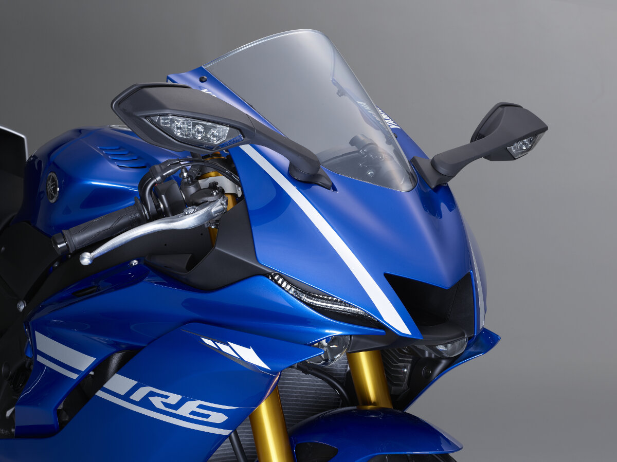 The Gorgeous New 2017 Yamaha Yzf R6 Rescogs Com
