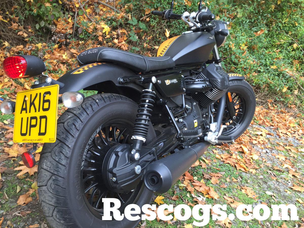 2016 moto guzzi v9 bobber test ride | rescogs