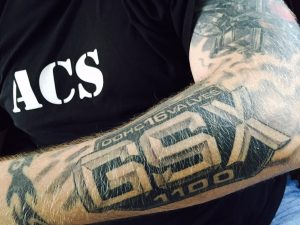 Air Cooled Suzuki GSX1100 Tattoos