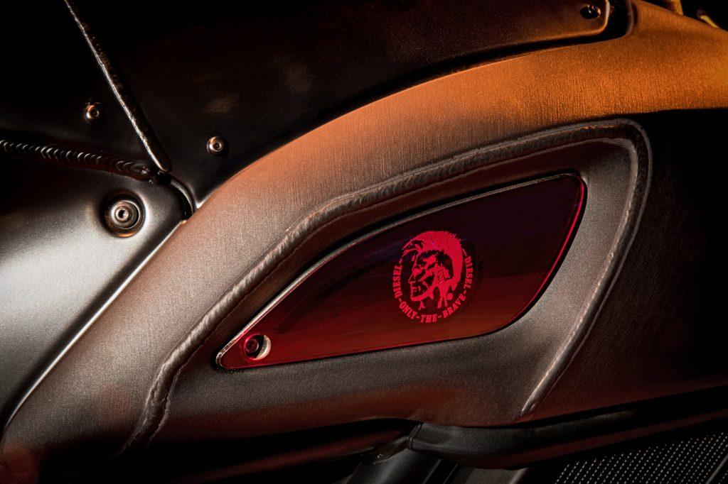 2017 Ducati Diavel Diesel Intake Cover