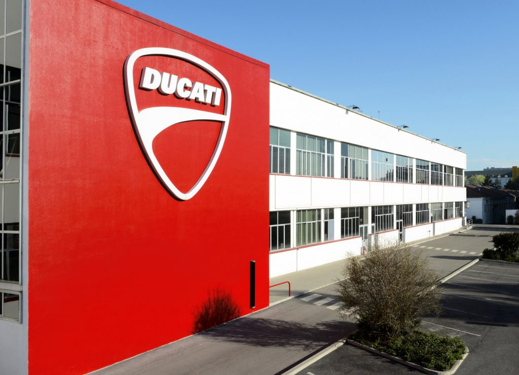 Ducati Motor Holdings Factory in Bologna