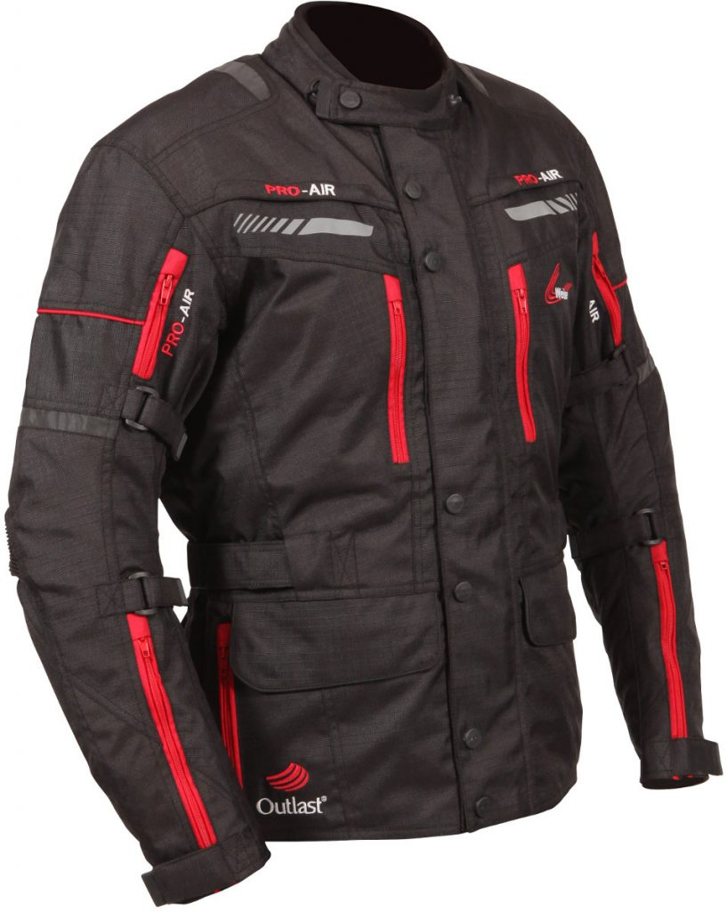 The Weise Outlast Houston textile motorcycle jacket