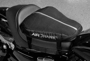 Updated Air-Filled Airhawk Motorcycle Cushions