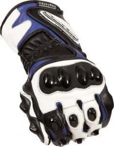 Buffalo BR30 Summer Motorcycle Gloves Black Blue