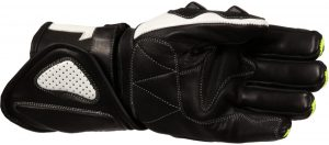 Buffalo BR30 Summer Motorcycle Gloves Black Neon Palm