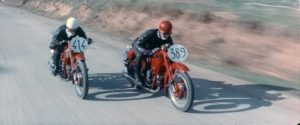 Classic 1957 bike film 'Engaged to Death' set for return