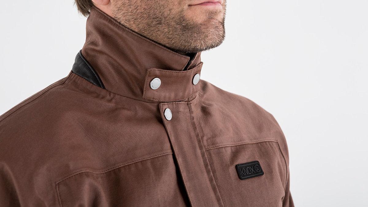 Knox Leonard Wax Jacket Mk 2 Collar