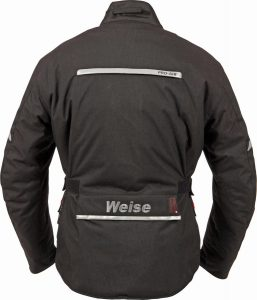 2017 Weise W-Tex Touring Jacket with Over-Trousers Back