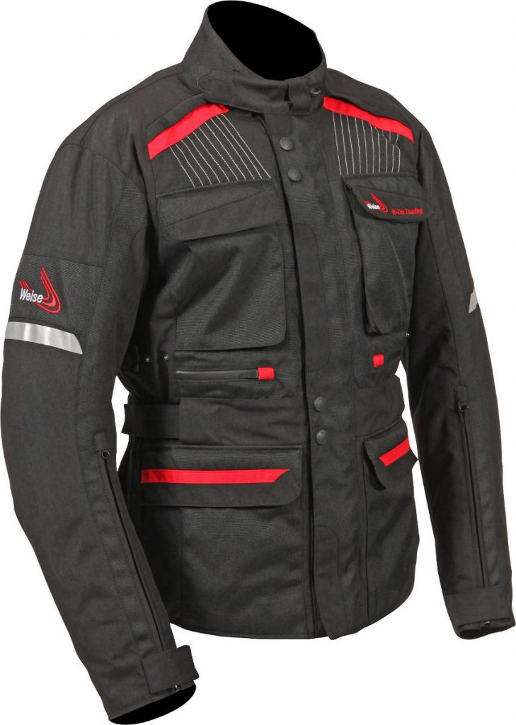 2017 Weise W-Tex Touring Jacket with Over-Trousers Black