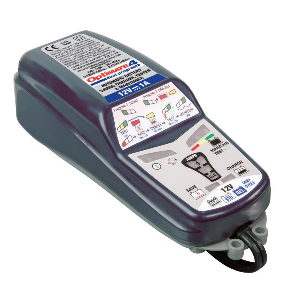 Optimate 4-1A Dual Program V3 Battery Charger