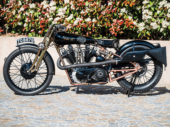 1928 Brough Superior SS100 Moby Dick Copyright Remi Dargegen 2017 Courtsey RM Sotheby's