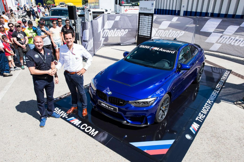 BMW M4 CS for the Fastest MotoGP Qualifier